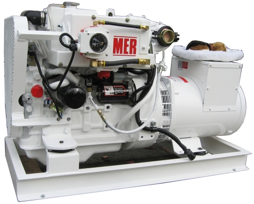 MER Beagle 27 Keel-cooled Left Hand Side
