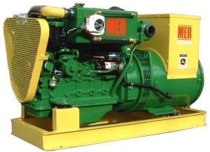 MER Beagle 45 Keel-cooled Generator