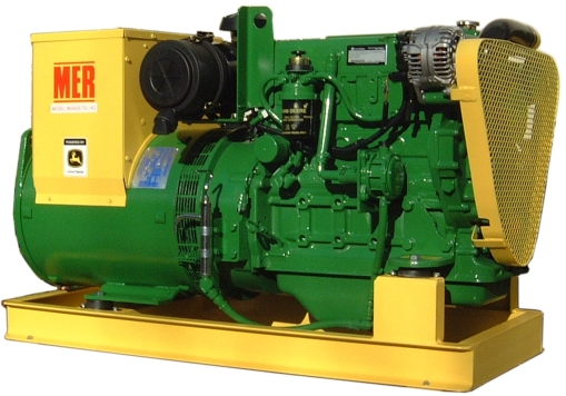 MER Beagle 45 Keel-cooled Generator Set