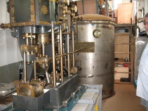 Original Style Harker Steam Engine With Faux Boiler