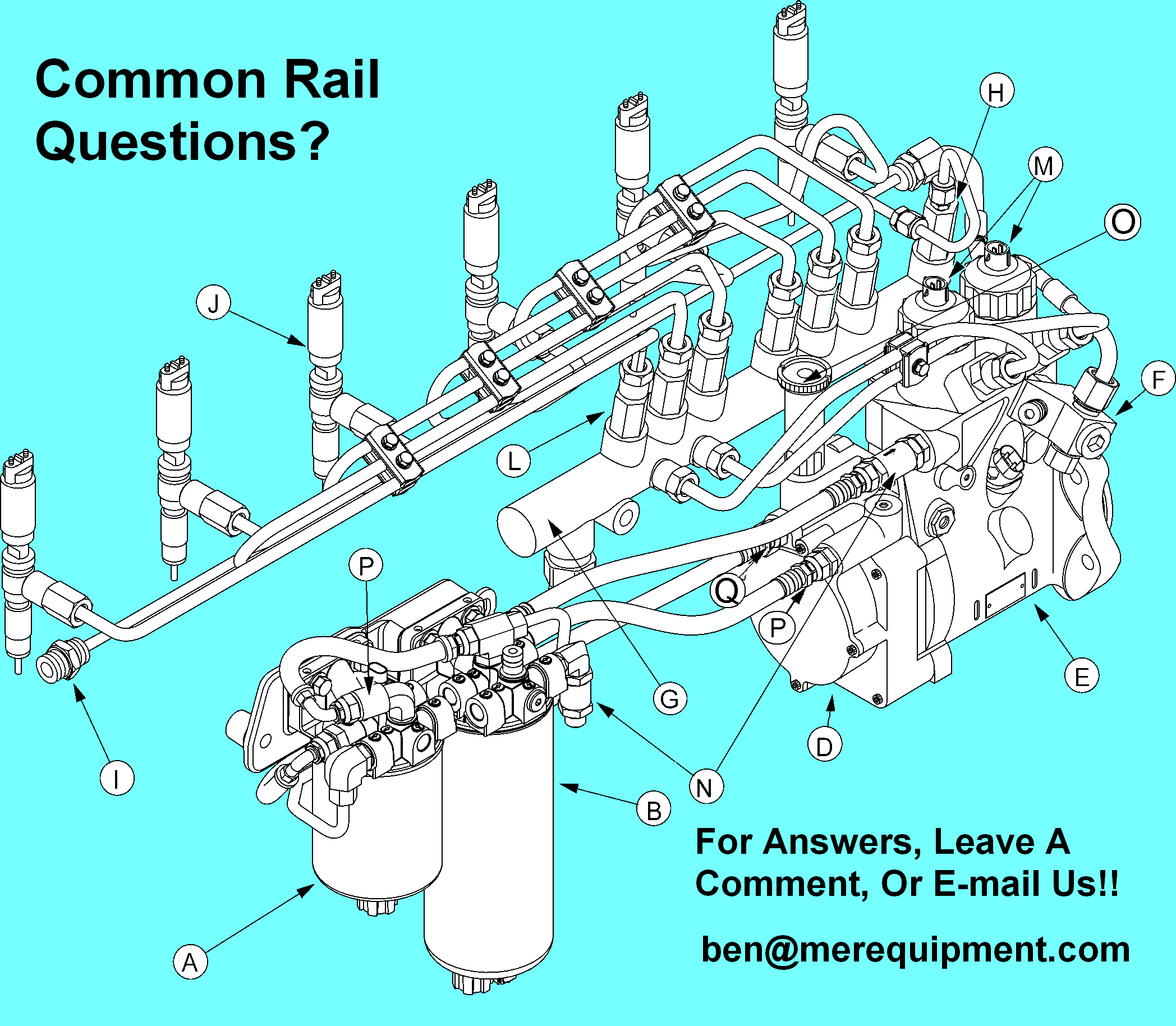 Common Rail Merpower Technical Support 800 777 0714