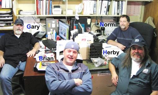 The MER Parts Professionals