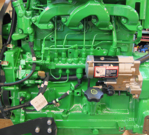The New Deere 4045 Common-rail Diesel Engine